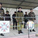 Священнослужитель принял участие в торжественном митинге в батальоне милиции