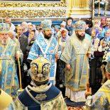 Епископ Серафим принял участие в торжестве в честь Смоленской иконы Божией Матери «Одигитрия»