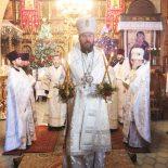 Епископ Серафим совершил Божественную литургию в Николо-Софийском храме города
