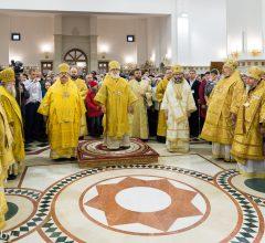 Епископ Бобруйский и Быховский Серафим принял участие в освящении кафедрального собора в Солигорске