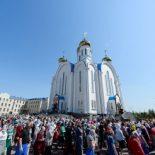 Епископ Серафим принял участие в торжествах, посвященных 20-летию учреждения Астанайской и Алма-Атинской епархии