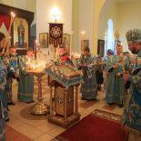 Епископ Серафим совершил всенощное бдение в канун праздника Рождества Пресвятой Богородицы