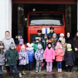 Ученики воскресной школы Николо-Софийского храма поздравили спасателей с профессиональным праздником