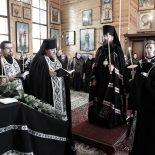 Епископ Серафим совершил чтение второй части Великого покаянного канона преподобного Андрея Критского в Троицком храме д. Турки