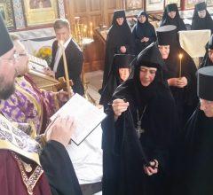Монашеский постриг в Барколабовском монастыре