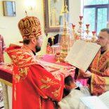 Епископ Серафим совершил диаконскую хиротонию