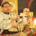 Рождественская Божественная литургия в Никольском кафедральном соборе Бобруйска