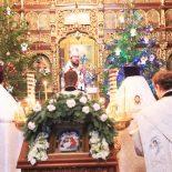 Рождественское богослужение прошло в Николо-Софийском храме Бобруйска