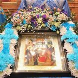 Епископ Серафим возглавил престольный праздник Сретенского храма г. Бобруйска