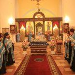 В канун праздника Успения Пресвятой Богородицы епископ Серафим совершил всенощное бдение в кафедральном соборе г. Бобруйска