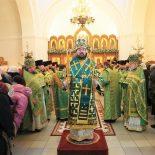 Епископ Серафим молитвенно отметил день памяти своего небесного покровителя