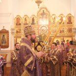 Божественная литургия в Георгиевском храме