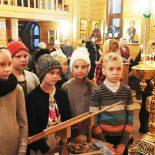 Божественная литургия для детей совершена в храме иконы Божией Матери «Целительница»