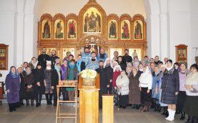 Сестричество в честь святой праведной княгини Софии Слуцкой при Свято-Иверском храме отметило свое 5-летие