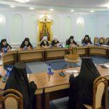 Епископ Серафим принял участие в очередном заседании Синода Белорусской Православной Церкви