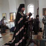 Епископ Серафим возглавил «стояние Марии Египетской» в Никольском кафедральном соборе г. Бобруйска