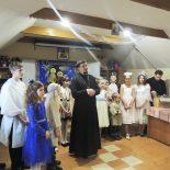 Праздничный Рождественский утренник прошел в воскресной школе Никольского кафедрального собора