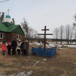 Воспитанники воскресной школы Никольского кафедрального собора г. Бобруйска совершили паломничество к святыням Бобруйщины