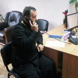 В День здоровья священник принял участие в прямой телефонной линии