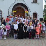 В воскресной школе Георгиевского храма прозвенел «Последний звонок»