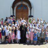 Прозвенел прощальный звонок в воскресной школе Георгиевского храма