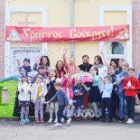 В воскресной школе Николо-Софийского храма прошел кукольный спектакль «Пасхальный колобок»