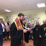 Епископ Серафим посетил предприятие «Барро» и совершил молебен на начало Нового года