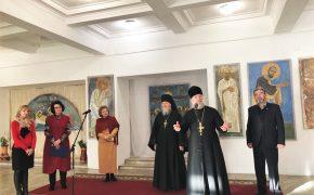 Епископ Серафим посетил выставку копий фресковой живописи «Образ, традиция, время»