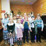 Рождественский утренник прошел в воскресной школе Сергиевского храма пос. Туголица