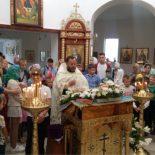 Молебен на начало нового учебного года совершен в Сретенском храме Бобруйска