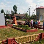 В Бацевичах совершили заупокойную литию по воинам-освободителям деревни