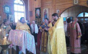 Престольный праздник Космо-Дамиановского храма д. Любоничи