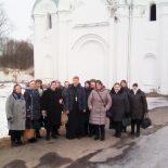 Прихожане Космо-Дамиановского храма д. Любоничи совершили паломничество в Могилев