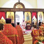 В среду Светлой седмицы епископ Серафим совершил Божественную литургию в Никольском соборе Бобруйска