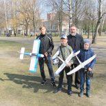 Представители авиамодельного кружка из Быхова приняли участие в мероприятии, посвященном дню авиации и космонавтики