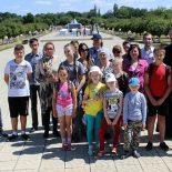 Воспитанники воскресной школы посетили мемориал «Памятник детям-жертвам Великой Отечественной войны (1941-1945гг.)»