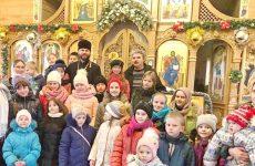 Рождество Христово прославили воспитанники воскресной школы Ильинского храма