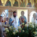 Епископ Серафим совершил Божественную литургию и молебен на начало учебного года в Елисаветинском храме г. Бобруйска