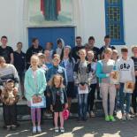 Выпускной акт в воскресной школе Покровского храма г. Кировска