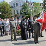 Епископ Серафим принял участие в возложении венков и цветов на площади Победы города Бобруйска