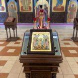 В канун четвертой недели Великого поста епископ Серафим совершил всенощное бдение в Никольском соборе