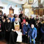Урок, посвященный Дню памяти новомучеников и исповедников земли Русской, прошел в воскресной школе Покровского храма г. Кировска