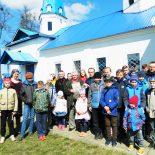 Воспитанники воскресной школы встретились с бывшим узником концлагеря «Озаричи»