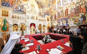 Очередное заседание Священного Синода Русской Православной Церкви прошло в Валаамском монастыре
