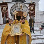 Епископ Серафим принял участие в престольных торжествах Трехсвятительского кафедрального собора г. Могилева