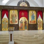 Освящение иконостаса кафедрального собора г.Бобруйска