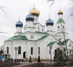 Воскресная Божественная литургия в Никольском соборе Бобруйска