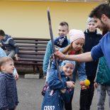 Воспитанники воскресной школы «Азъ, Буки, Веди» встретились с представителем белорусского казачества