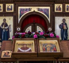 В неделю 14-ю по Пятидесятнице епископ Серафим совершил Божественную литургию в Покровском храме г. Бобруйска