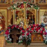 Митрополит Вениамин совершил праздничную Божественную литургию в храме иконы Божией Матери «Целительница» г. Бобруйска